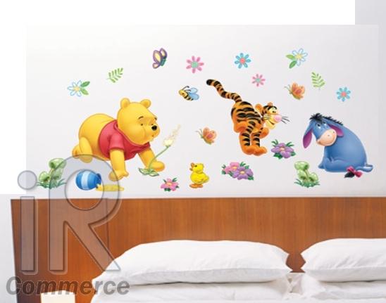 winnie pooh wandtattoo wandsticker wandaufkleber winniepooh xl kinderzimmer ebay. Black Bedroom Furniture Sets. Home Design Ideas