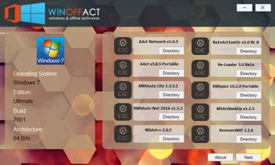 Winoffact Full 2.0 İndir – Windows ve Office Lisanslama Programı