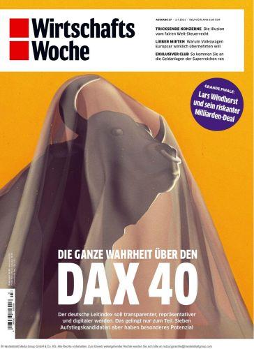 Cover: Wirtschaftswoche Magazin No 27 vom 02  Juli 2021