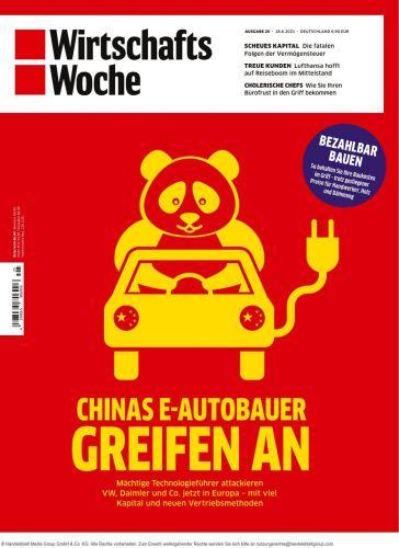 Cover: Wirtschaftswoche Magazin No 25 vom 18  Juni 2021