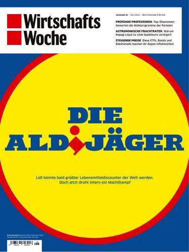 Cover: Wirtschaftswoche Magazin No 26 vom 25  Juni 2021