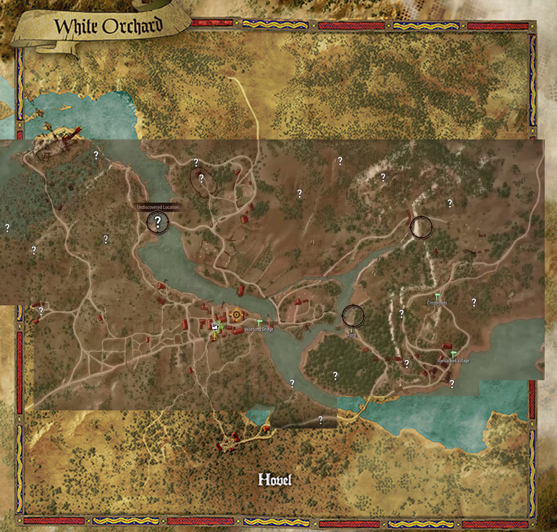 Scale of map size in the witcher 3 wild hunt page 4 neogaf heres white orchard the prologue area with points of interest gumiabroncs Gallery