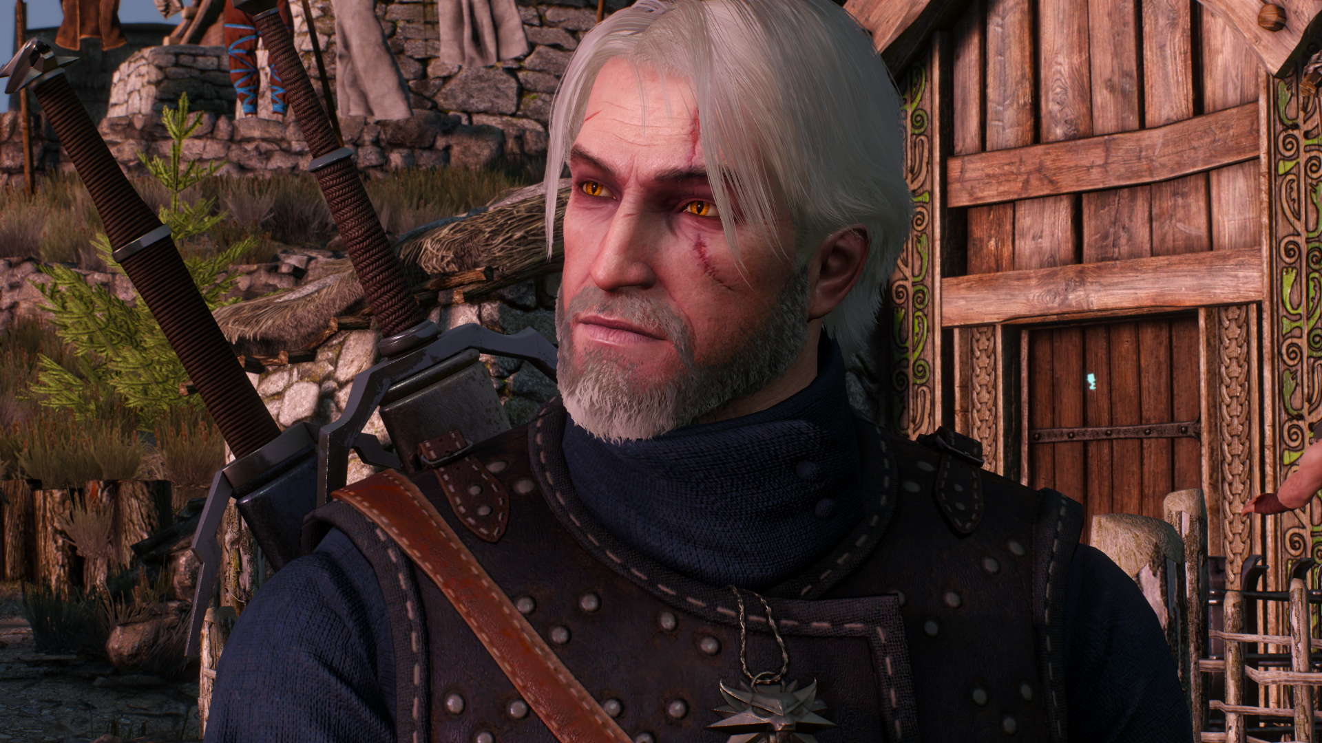 Let S Settle This Geralt Of Rivia Beard Or Clean Shaven