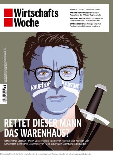 :  Wirtschaftswoche Magazin No 38 vom 14 September 2018