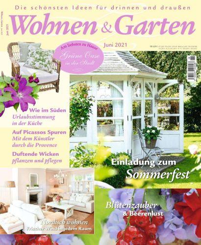 Cover: Wohnen und Garten Magazin No 06 Juni 2021