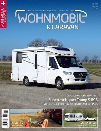 Cover: Wohnmobil & Caravan Magazin Juni-Juli No 03 2021