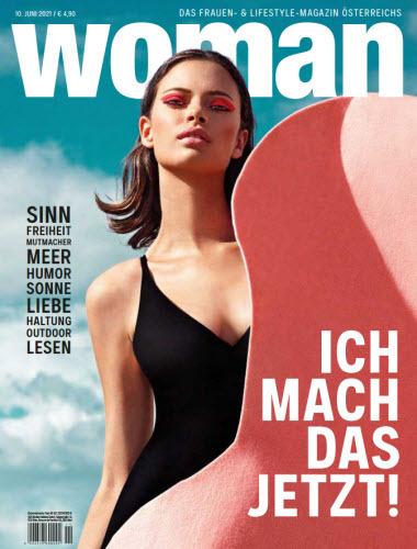 Cover: Woman Frauenmagazin No 11 vom 10  Juni 2021