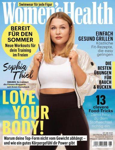 Cover: Womans Health Magazin No 07 Juli 2021