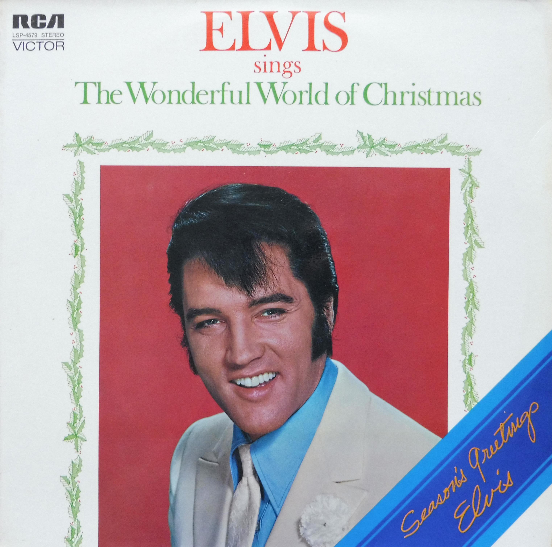 ELVIS SINGS THE WONDERFUL WORLD OF CHRISTMAS Wonderfulworldofchris90jfj