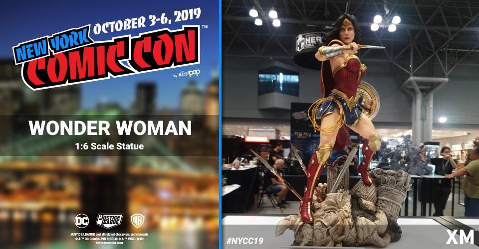 XM Studios: Coverage New York Comic Con 2019 - October 3rd to 6th  Wonderwomanj1k8i