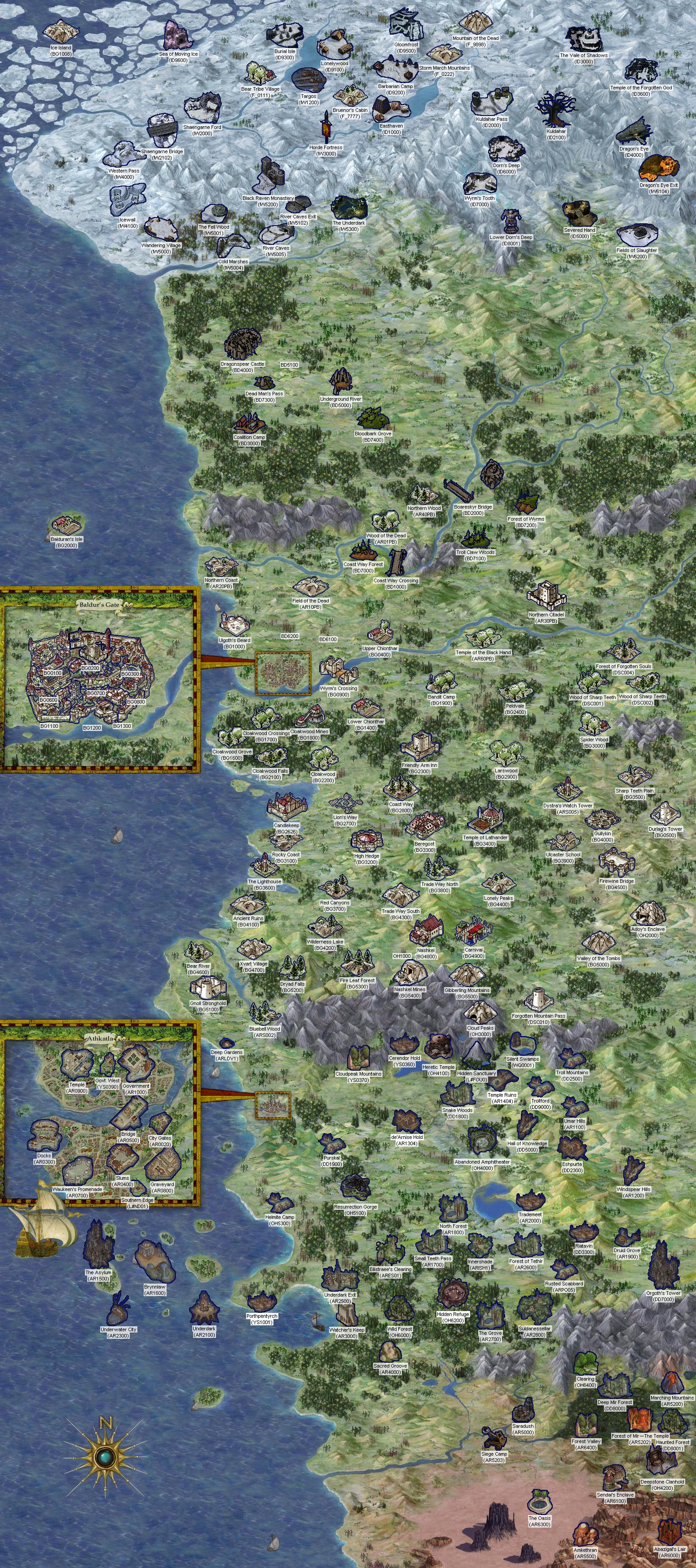 Eet Worldmap Areas Reference Enhanced Edition Trilogy