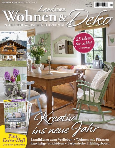 Landidee wohnen und deko magazin dezember januar no 01 for Magazin wohnen