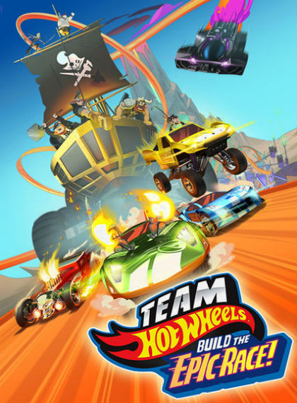 Team Hot Wheels: Build the Epic Race 2015 türkçe dublaj film indir