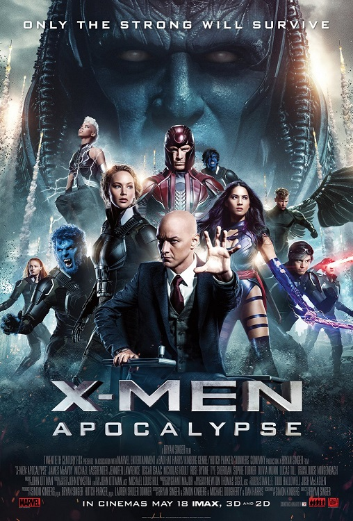 X-Men Apocalypse film indir