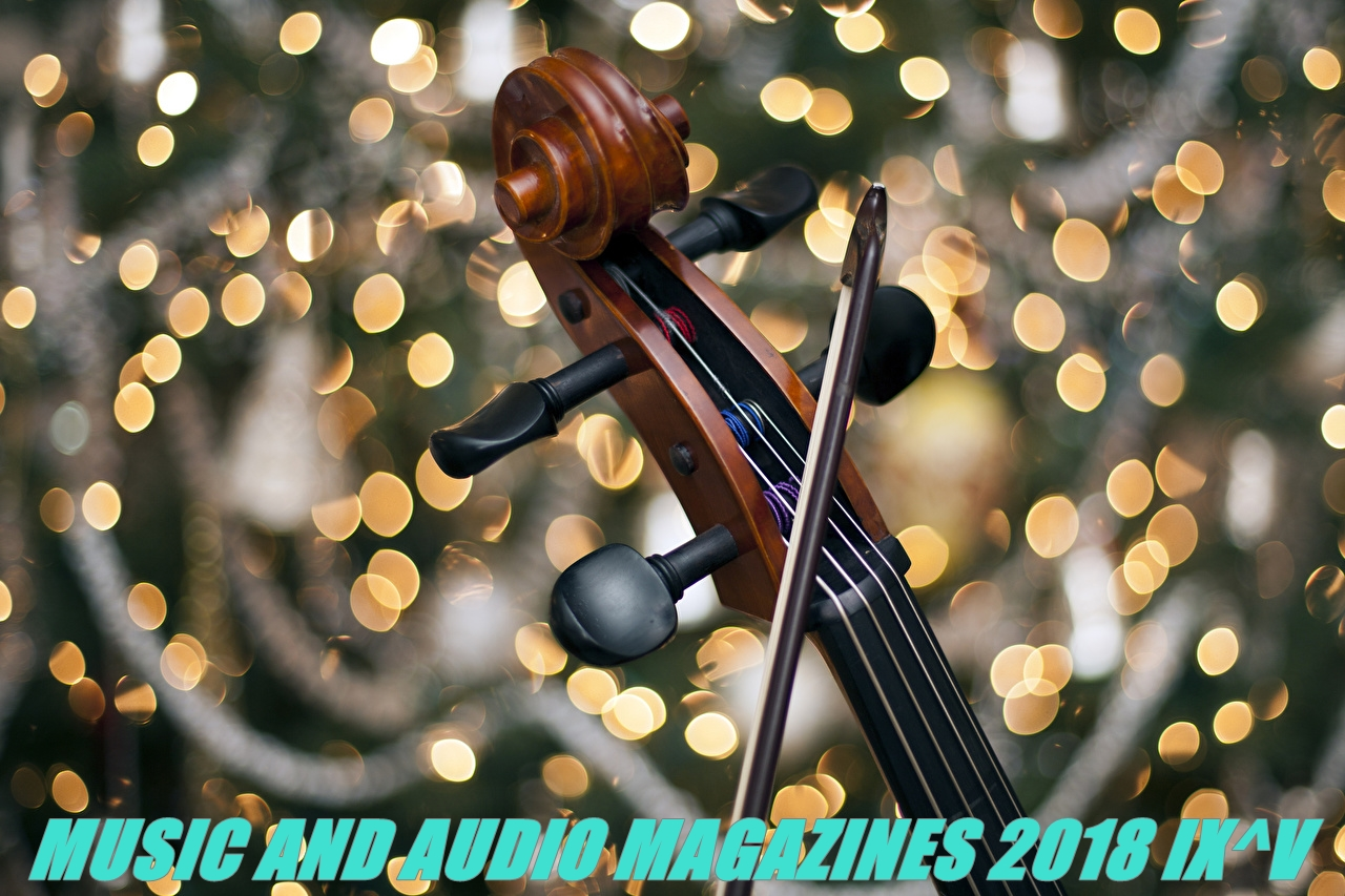 Music and audio magazines 2018 IX