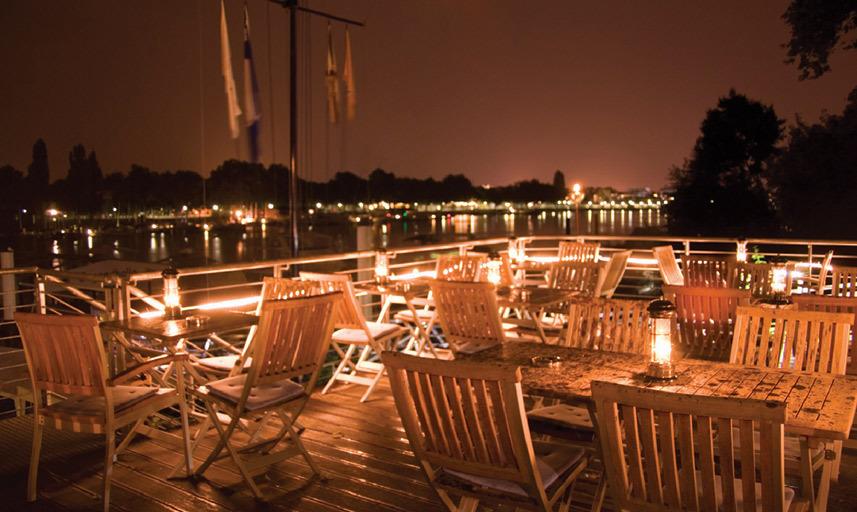 Terrasse Nacht