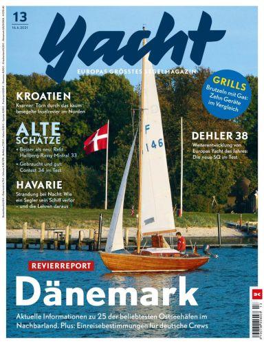 Cover: Yacht Segelmagazin No 13 vom 16  Juni 2021