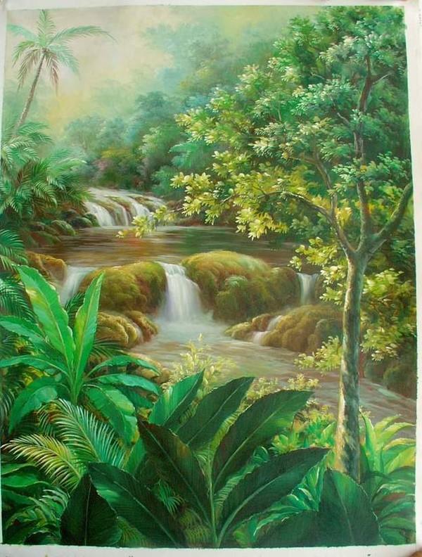 Isadami Dan Yadly Boya Resimleri