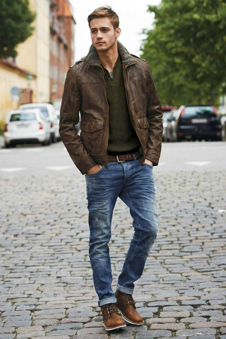 men's casual clothing - 736×1104