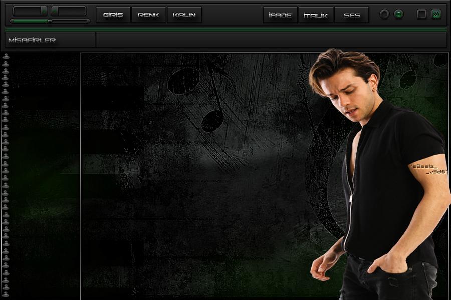 Yeşil My Life Müzik Bay Tema