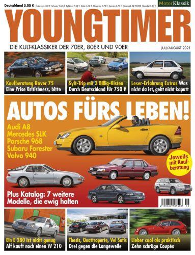 Cover: Motor Klassik Youngtimer Magazin No 05 Juli-August 2021
