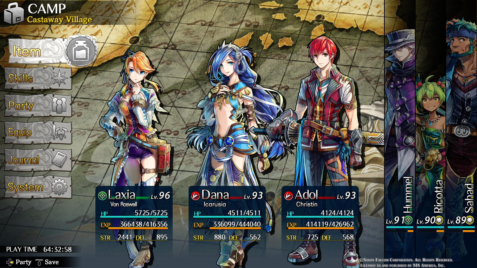 Ys Viii Lacrimosa Of Dana Ot Two Systems Two Heroes One Big