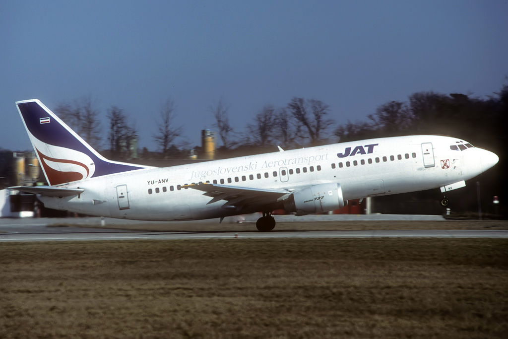 B737-300 JAT/Aviolet Yu-anv_10-03-97c6jie