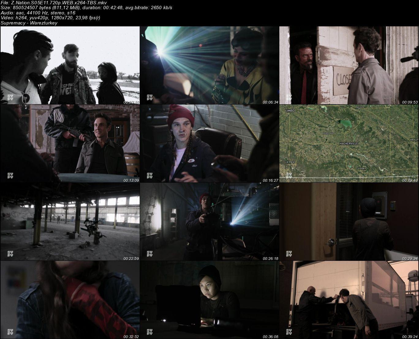 Z Nation - Sezon 5 - 720p HDTV - Türkçe Altyazılı