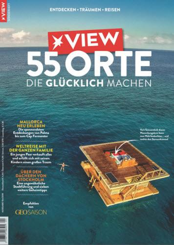 Der Stern View Magazin Sonderheft (55 Orte) Oktober 2018