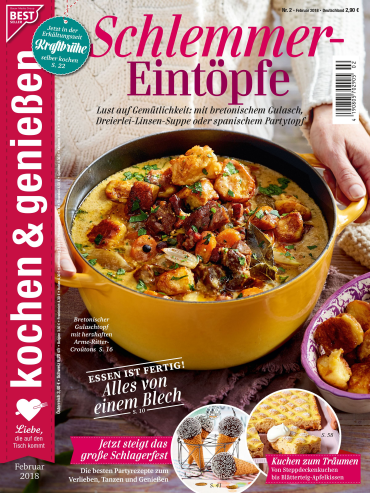: Kochen und Geniessen Magazin Februar No 02 2018