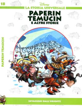La storia universale Disney 18 - Paperin Temucin (2011-06-21)