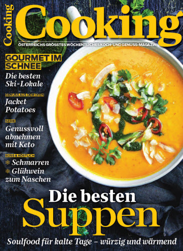 Cooking-Koch und Genussmagazin Januar No 03 2019