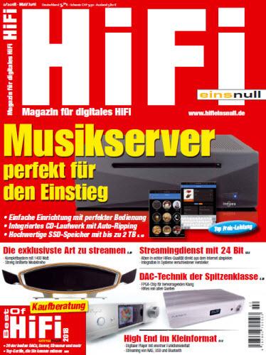 :  Hifi-Einsnull Magazin für digitales HIFI-Mai Juni No 02 2018