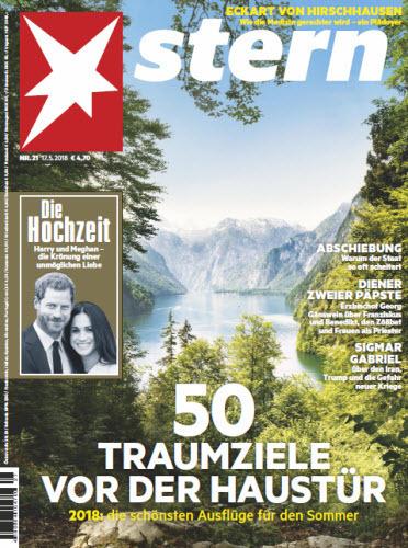 :  Der Stern Magazin No 21 vom 17 Mai 2018