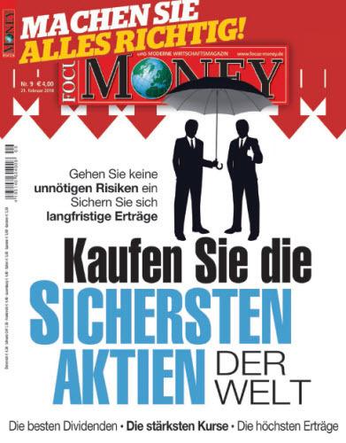 Focus Money Finanzmagazin Februar No 09 2018