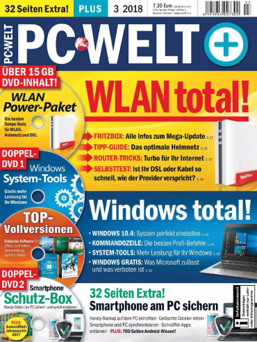 PC Welt Magazin März No 03 2018
