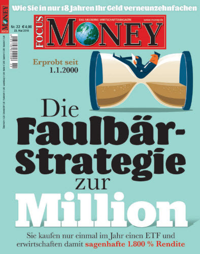 Focus Money Finanzmagazin Mai No 22 2018