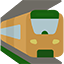 Zug gefahren
