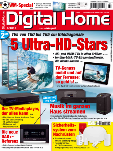 Digital Home Magazin Juni-August No 03 2018