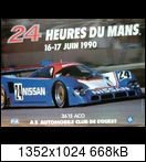 24 HEURES DU MANS YEAR BY YEAR PART FOUR 1990-1999 90lm00cartel0kkmn