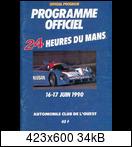 24 HEURES DU MANS YEAR BY YEAR PART FOUR 1990-1999 90lm00cartel19cklu
