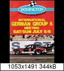 1980 Deutsche Automobil-Rennsport-Meisterschaft (DRM) Donington800706huk2t